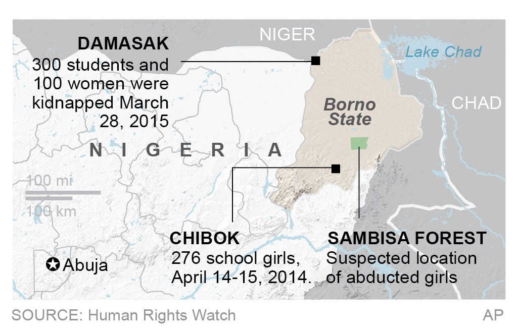Boko Haram is believed to have kidnapped thousands of children.